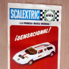 Scalextric: MERCEDES WANKEL C-111 REF C-44 ,FOLLETO SCALEXTRIC, TODO COLOR , AÑOS 70.. Lote 170350000