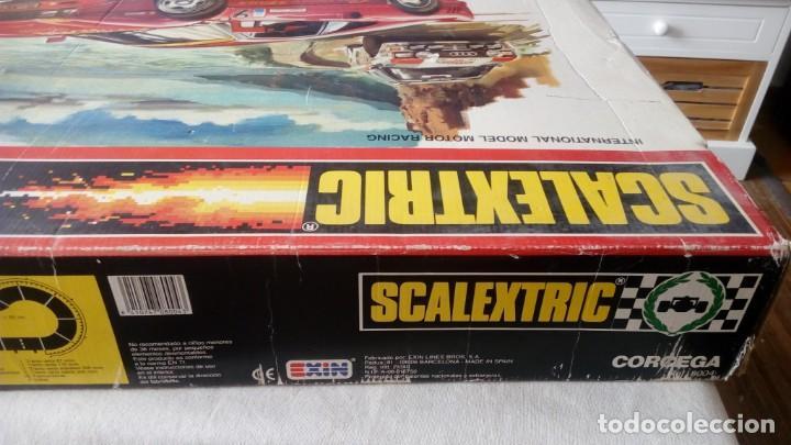 Scalextric: CAJA CIRCUITO SCALEXTRIC REFERENCIA RALLY CORCEGA COMPLETO EXIN AÑOS 80 FERRARI GTO AUDI QUATTRO - Foto 6 - 170384804