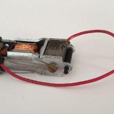 Scalextric: MOTOR RX1 ABIERTO ORIGINAL DE EXIN CON CABLES FUNCIONA PERFECTAMENTE. Lote 170482344