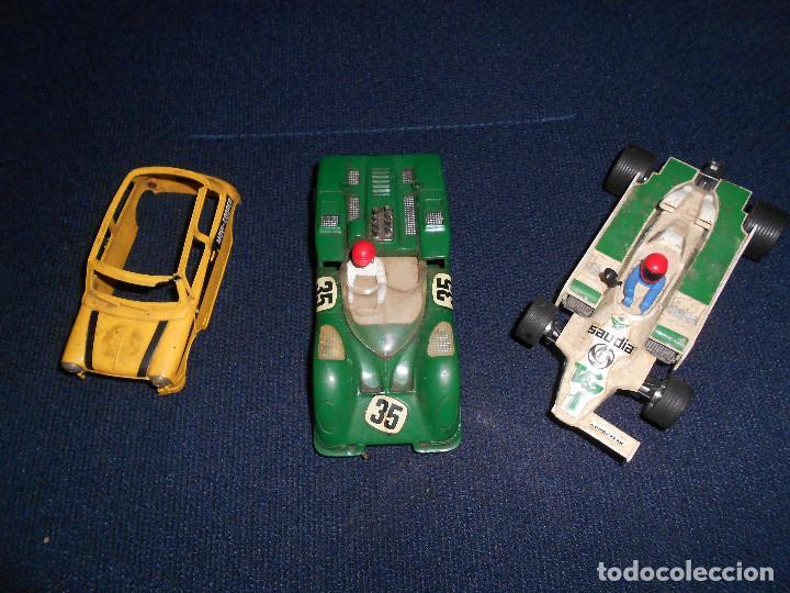 PARA PIEZAS CHAPARRAL GT REF.C-40 WILLIAMS F1 Y CARCASA MINI- FIJENSE EN LAS FOTOS (Juguetes - Slot Cars - Scalextric Exin)