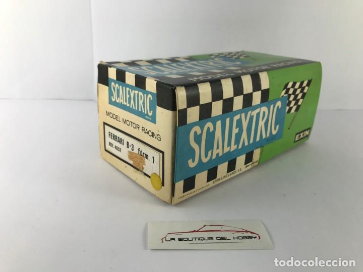 CAJA VACIA FERRARI B3 SCALEXTRIC EXIN 4052 (Juguetes - Slot Cars - Scalextric Exin)