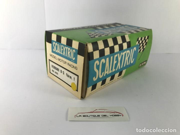 Scalextric: CAJA VACIA FERRARI B3 SCALEXTRIC EXIN 4052 - Foto 2 - 171016685