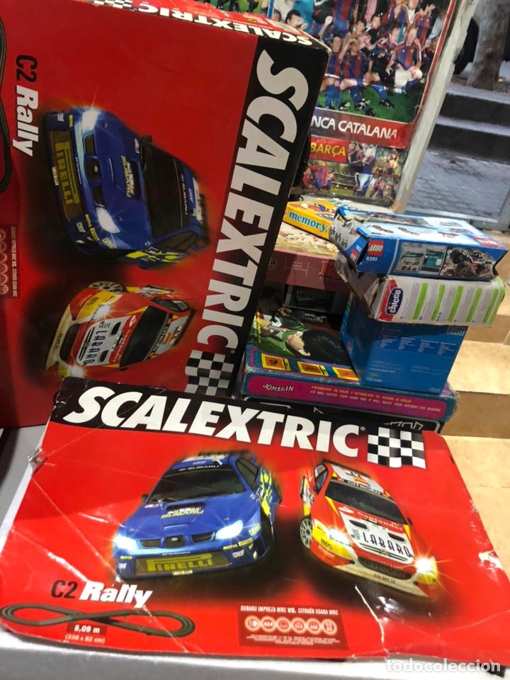 Scalextric: Scalextric C2 rally en caja completo funciona perfectamente - Foto 2 - 171143445