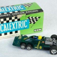 Scalextric: COCHE SCALEXTRIC EXIN TYRREL VERDE P-34 REF. 4054 AÑOS 70 -CON SU CAJA ORIGINAL . Lote 171236938