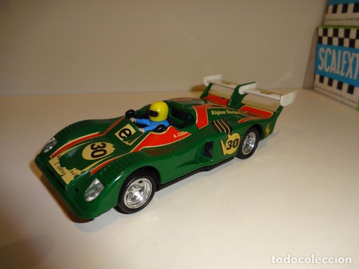 EXIN. RENAULT ALPINE 2000 TURBO VERDE (Juguetes - Slot Cars - Scalextric Exin)
