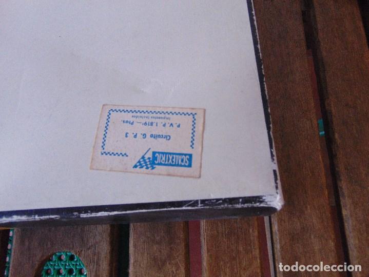 Scalextric: CAJA DE SCALEXTRIC EXIN GP 3 CON INTERIORES, PISTAS, ACCESORIOS SIN COCHES CON DOCUMENTACIÓN - Foto 25 - 172043195