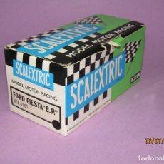 Scalextric: ANTIGUA CAJA VACIA DEL FORD FIESTA BP REF. 4061 DE SCALEXTRIC EXIN. Lote 172057280