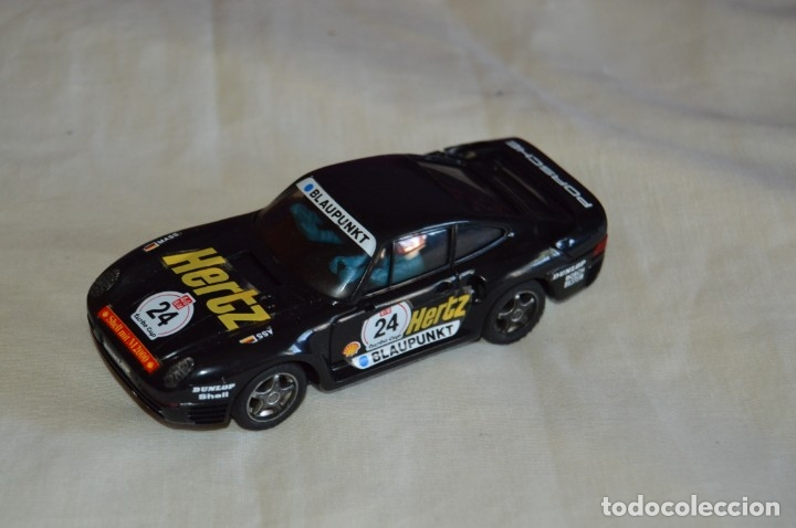 ANTIGUO Y ORIGINAL - PORSCHE 959 HERTZ - EXIN MADE IN SPAIN - SCALEXTRIC EXIN - ¡MIRA! (Juguetes - Slot Cars - Scalextric Exin)
