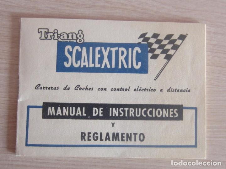 Scalextric: T.C. 600-D SOBRE DOCUMENTACIÓN COMPLETO ORIGINAL - Foto 5 - 172385352
