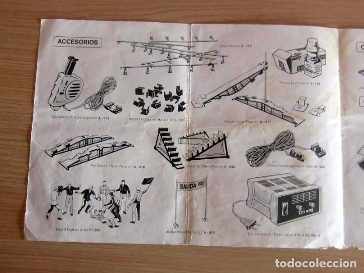 Scalextric: T.C. 600-D SOBRE DOCUMENTACIÓN COMPLETO ORIGINAL - Foto 13 - 172385352