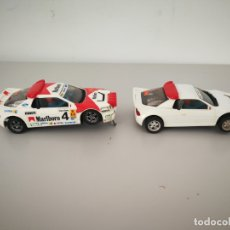 Scalextric: LOTE PAREJA FORD RS EXIN SCALEXTRIC . Lote 172627412