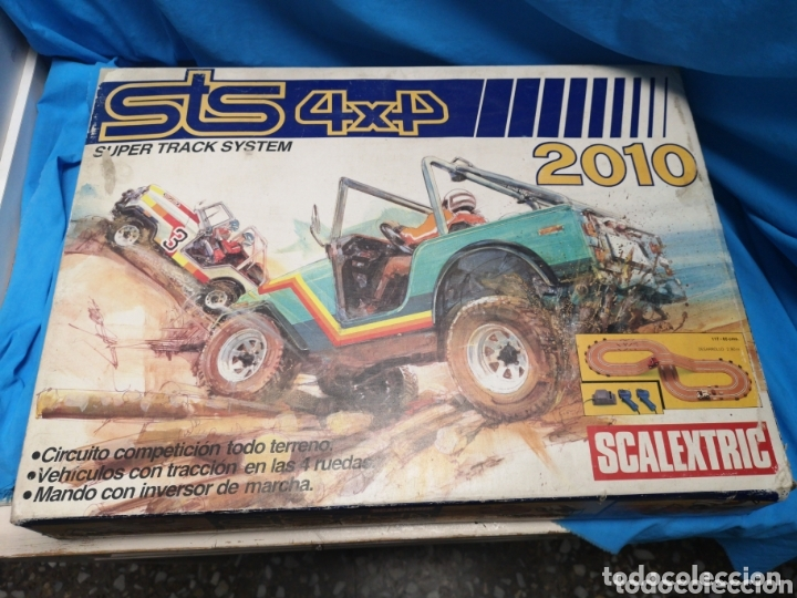 SCALEXTRIC STS 4X4 SUPER TRACK SYSTEM 2010 (Juguetes - Slot Cars - Scalextric Exin)