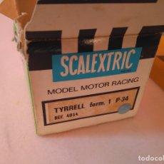 Scalextric: CAJA TYRRELL P34 AZUL 4054. Lote 172812297