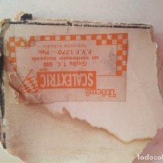 Scalextric: ETIQUETA PRECIO CAJA T.C.600. Lote 172812554