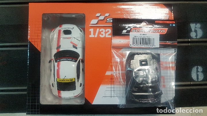 MERCEDES BENZ MB-A GT3 CUP BLANCO SCALEAUTO (Juguetes - Slot Cars - Scalextric Exin)