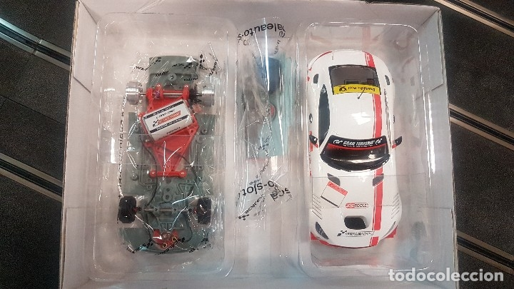 Scalextric: MERCEDES BENZ MB-A GT3 CUP BLANCO SCALEAUTO - Foto 2 - 172815398