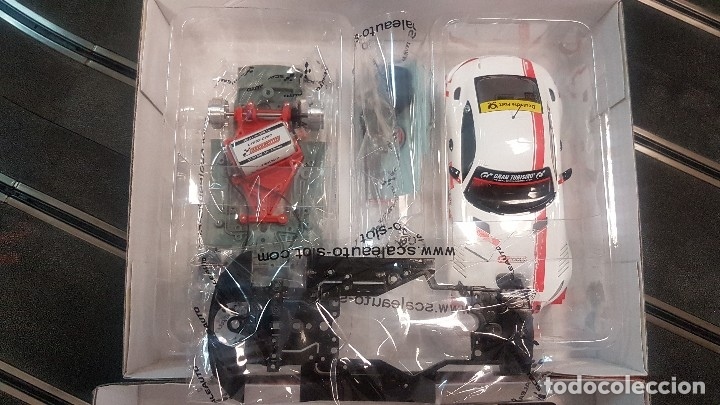 Scalextric: MERCEDES BENZ MB-A GT3 CUP BLANCO SCALEAUTO - Foto 3 - 172815398