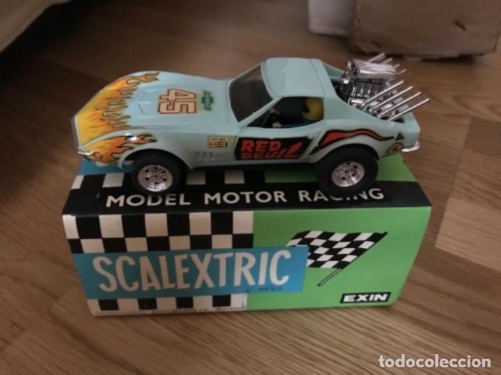Scalextric: COCHE SCALEXTRIC CHEVROLET CORVETTE DE EXIN REF.-4050 - Foto 2 - 173083317