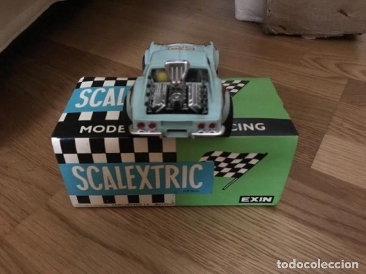 Scalextric: COCHE SCALEXTRIC CHEVROLET CORVETTE DE EXIN REF.-4050 - Foto 4 - 173083317