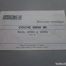 Scalextric: SCALEXTRIC EXIN MANTENIMIENTO BMW M1 ORIGINAL . Lote 173142683