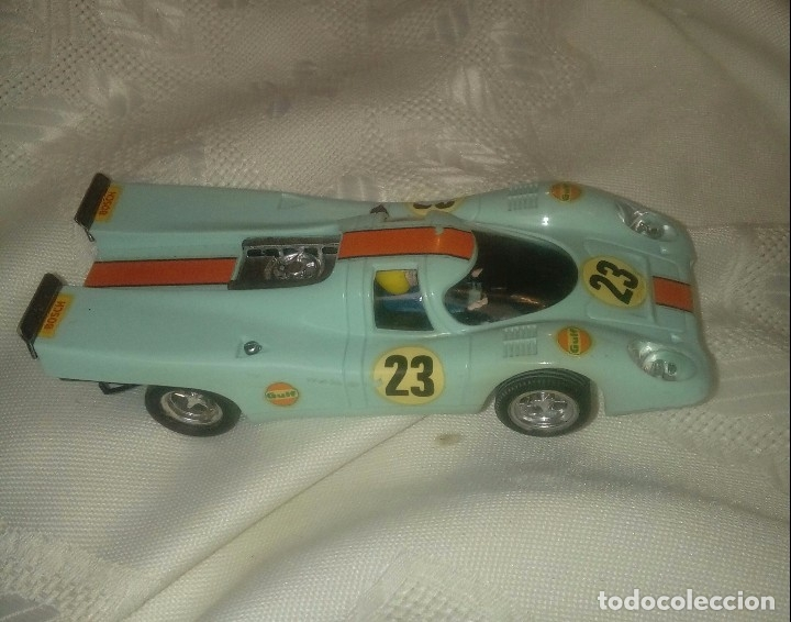 PORCHE 917 RF C-46 COLOR VERDE CLARO SCALEXTRIC MADE IN SPAIN (Juguetes - Slot Cars - Scalextric Exin)