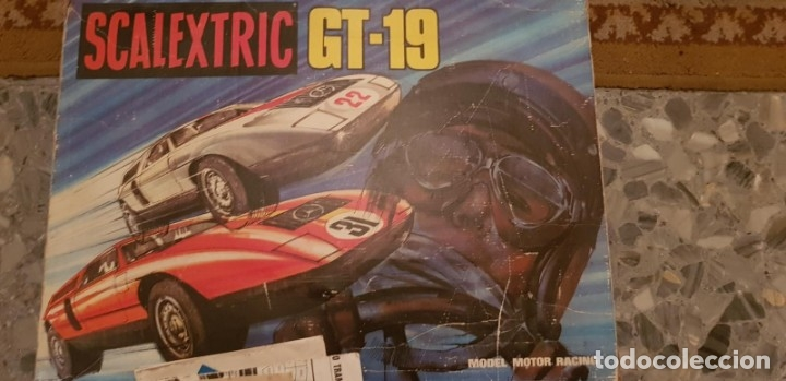 CIRCUITO GT-19 COMPLETO CON COCHES (Juguetes - Slot Cars - Scalextric Exin)