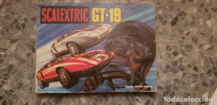 Scalextric: CIRCUITO GT-19 COMPLETO CON COCHES - Foto 3 - 173772025