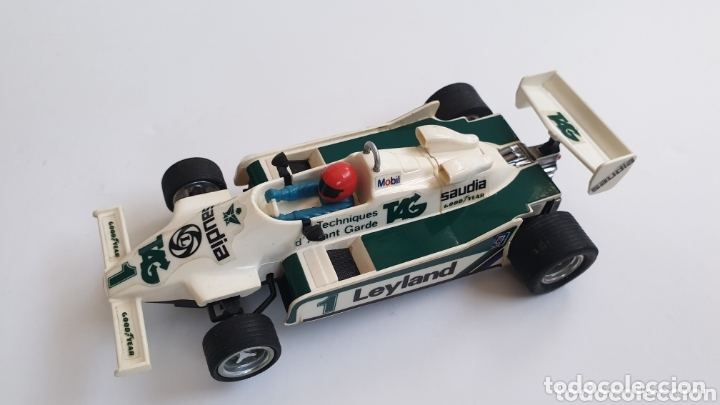 WILLIAMS FW-07 BLANCO SCALEXTRIC EXIN REF 4068 (Juguetes - Slot Cars - Scalextric Exin)