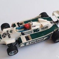 Scalextric: WILLIAMS FW-07 BLANCO SCALEXTRIC EXIN REF 4068. Lote 173796184