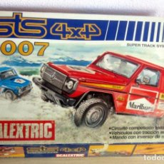 Scalextric: STS 4X4 2007 COMPLETO CON DOS MERCEDES 4X4. Lote 173809724