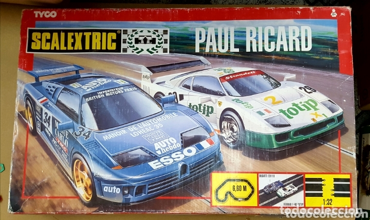 SCALEXTRIC CIRCUITO PAUL RICARD COMPLETO (Juguetes - Slot Cars - Scalextric Exin)