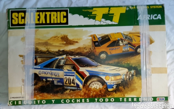 CIRCUITO SCALEXTRIC AFRICA FUNCIONANDO (Juguetes - Slot Cars - Scalextric Exin)