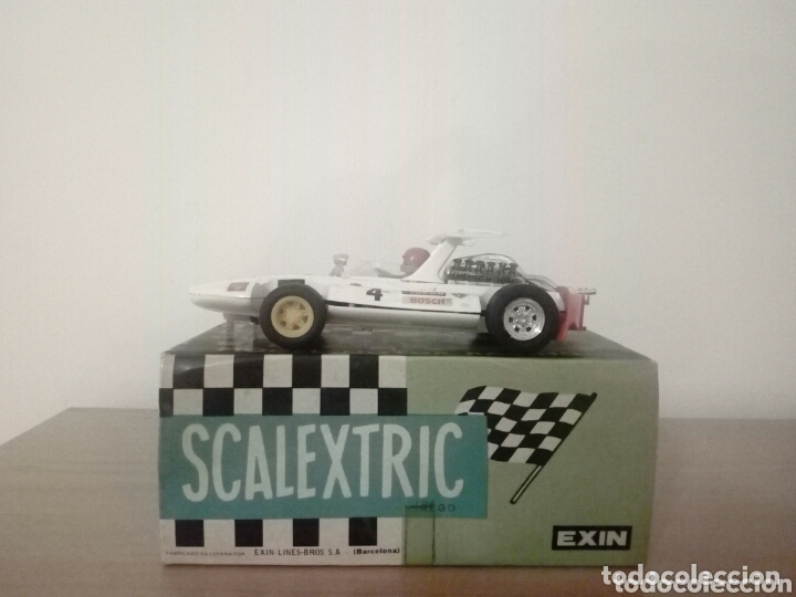 COCHE SCALEXTRIC EXIN SIGMA BLANCO 4047 (Juguetes - Slot Cars - Scalextric Exin)