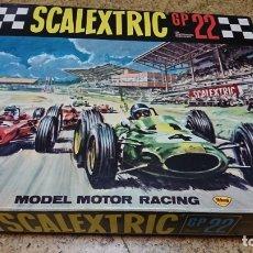 Scalextric: CIRCUITO SCALEXTRIC GP 22, FERRARI V6, EXIN, COMPLETO. Lote 173990887