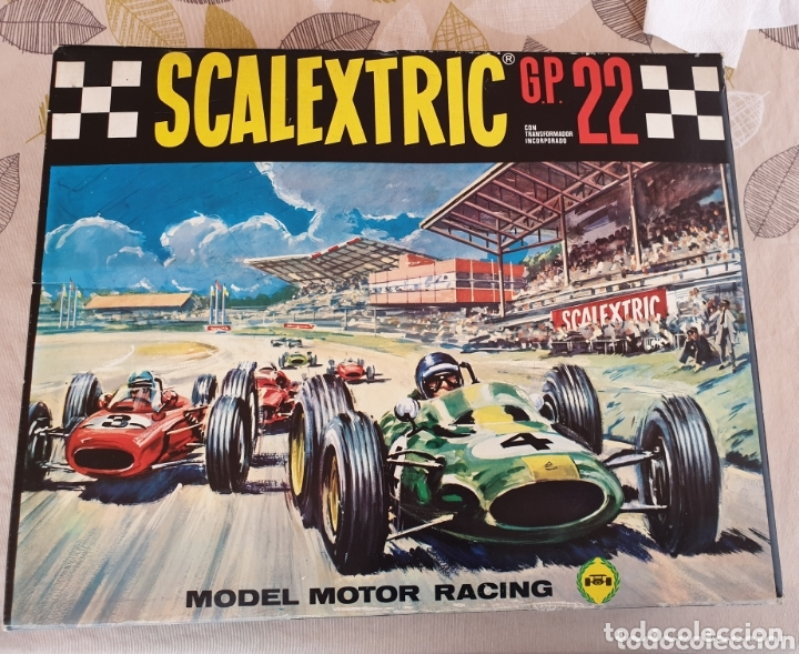 SCALEXTRIC GP22 CON 2 HONDAS C-36 (Juguetes - Slot Cars - Scalextric Exin)