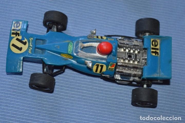 Scalextric: LOTE Ferrari B3 F1 AZUL 4052 y TYRRELL FORD C-48 - SCALEXTRIC EXIN Original - MADE IN SPAIN ¡Mira! - Foto 2 - 174082169