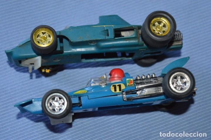Scalextric: LOTE Ferrari B3 F1 AZUL 4052 y TYRRELL FORD C-48 - SCALEXTRIC EXIN Original - MADE IN SPAIN ¡Mira! - Foto 4 - 174082169