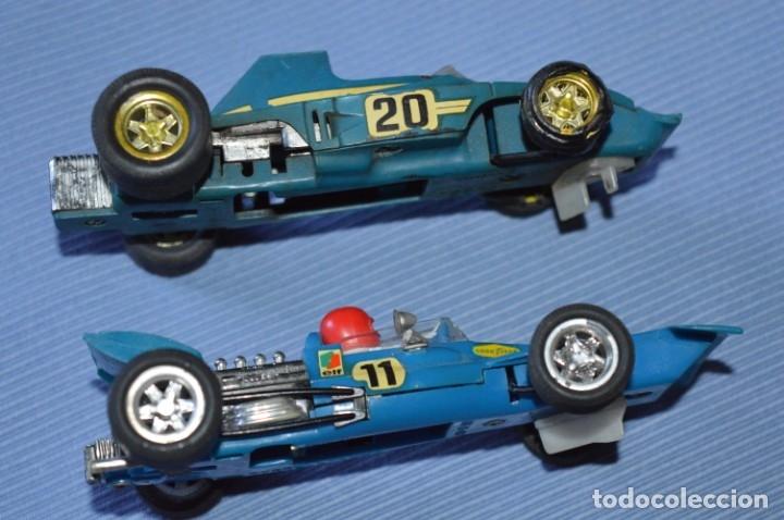 Scalextric: LOTE Ferrari B3 F1 AZUL 4052 y TYRRELL FORD C-48 - SCALEXTRIC EXIN Original - MADE IN SPAIN ¡Mira! - Foto 5 - 174082169