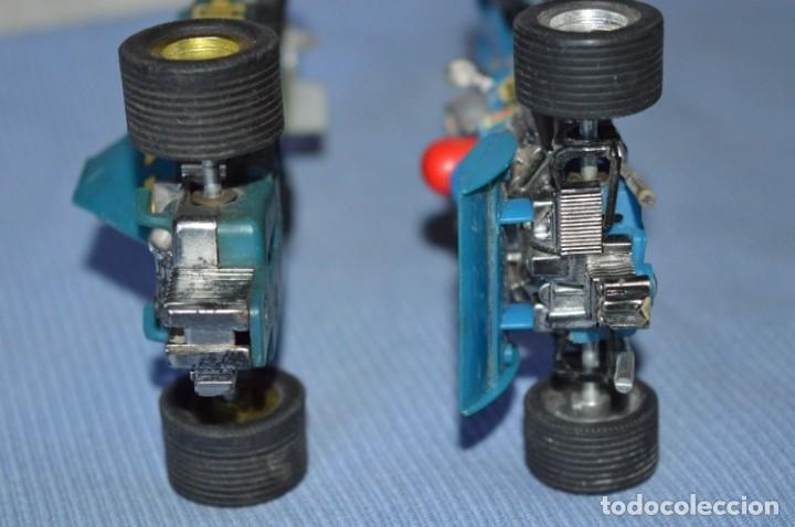 Scalextric: LOTE Ferrari B3 F1 AZUL 4052 y TYRRELL FORD C-48 - SCALEXTRIC EXIN Original - MADE IN SPAIN ¡Mira! - Foto 6 - 174082169