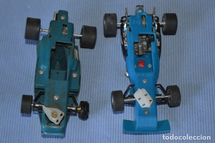 Scalextric: LOTE Ferrari B3 F1 AZUL 4052 y TYRRELL FORD C-48 - SCALEXTRIC EXIN Original - MADE IN SPAIN ¡Mira! - Foto 9 - 174082169