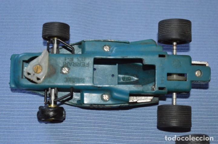 Scalextric: LOTE Ferrari B3 F1 AZUL 4052 y TYRRELL FORD C-48 - SCALEXTRIC EXIN Original - MADE IN SPAIN ¡Mira! - Foto 10 - 174082169