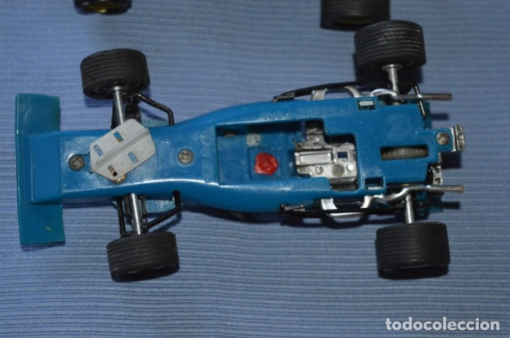 Scalextric: LOTE Ferrari B3 F1 AZUL 4052 y TYRRELL FORD C-48 - SCALEXTRIC EXIN Original - MADE IN SPAIN ¡Mira! - Foto 11 - 174082169