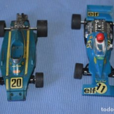 Scalextric: LOTE FERRARI B3 F1 AZUL 4052 Y TYRRELL FORD C-48 - SCALEXTRIC EXIN ORIGINAL - MADE IN SPAIN ¡MIRA!. Lote 174082169