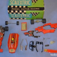 Scalextric: LOTE FERRARI B3 F1 4052 Y TYRRELL FORD C-48 - ROJOS SCALEXTRIC EXIN ORIGINAL - MADE IN SPAIN ¡MIRA!. Lote 174084245