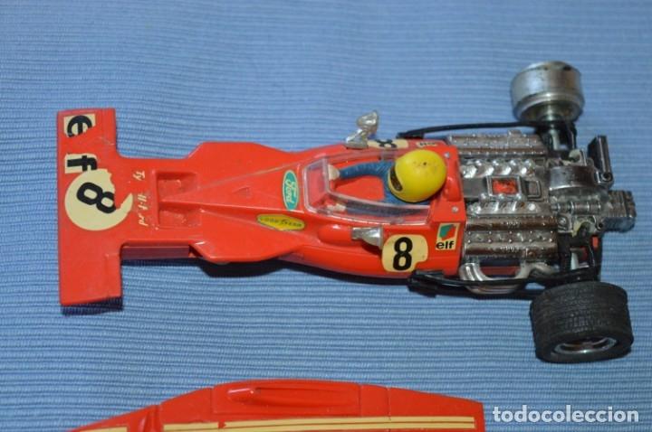 Scalextric: LOTE Ferrari B3 F1 4052 y TYRRELL FORD C-48 - Rojos SCALEXTRIC EXIN Original - MADE IN SPAIN ¡Mira! - Foto 2 - 174084245