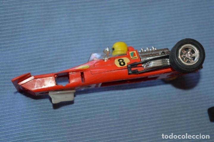 Scalextric: LOTE Ferrari B3 F1 4052 y TYRRELL FORD C-48 - Rojos SCALEXTRIC EXIN Original - MADE IN SPAIN ¡Mira! - Foto 3 - 174084245