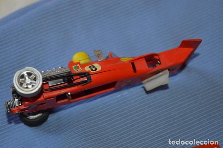 Scalextric: LOTE Ferrari B3 F1 4052 y TYRRELL FORD C-48 - Rojos SCALEXTRIC EXIN Original - MADE IN SPAIN ¡Mira! - Foto 4 - 174084245