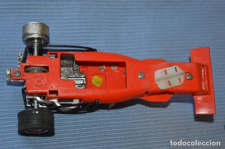 Scalextric: LOTE Ferrari B3 F1 4052 y TYRRELL FORD C-48 - Rojos SCALEXTRIC EXIN Original - MADE IN SPAIN ¡Mira! - Foto 6 - 174084245