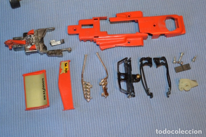 Scalextric: LOTE Ferrari B3 F1 4052 y TYRRELL FORD C-48 - Rojos SCALEXTRIC EXIN Original - MADE IN SPAIN ¡Mira! - Foto 12 - 174084245