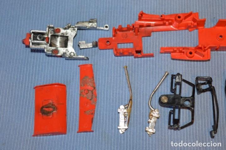 Scalextric: LOTE Ferrari B3 F1 4052 y TYRRELL FORD C-48 - Rojos SCALEXTRIC EXIN Original - MADE IN SPAIN ¡Mira! - Foto 14 - 174084245
